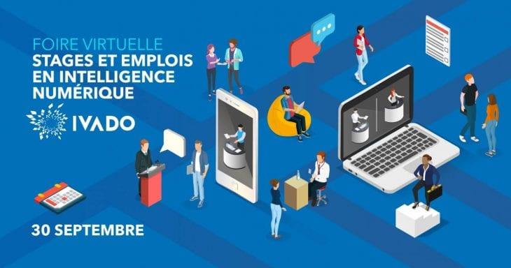IVADO digital intelligence internship and job fair